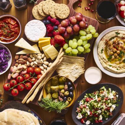 フードスタイリスト青木夕子の作品-Israeli table / Photographer:早川佳郎(Hayakawa Yoshiro)