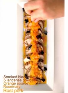 フードスタイリスト上樂由美子の作品 - 『ローズマリーの香りのローストポーク 五香粉風味のオレンジソース』